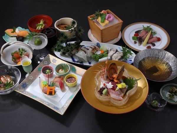 特選和食会席料理の一例