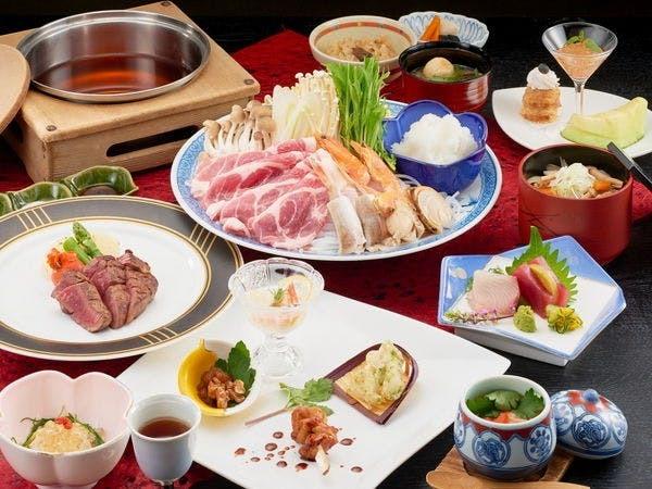 和風のコース料理のお料理(一例)
