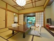*客室一例『加茂』/まるで懐かしい我が家に帰ってきたかのような気持ちを感じていただけるでしょう。
