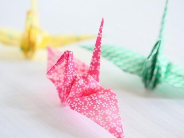 「折り鶴」