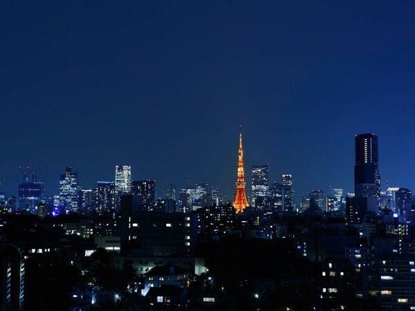 東京タワー側の夜景イメージ