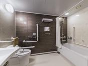 【ユニバーサルツイン】車椅子対応のバスルームを完備しております