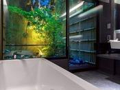 【ガーデンツイン】お風呂に入りながら専用のお庭をご覧いただけます