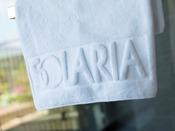 【タオル】ホテルのロゴが入ったオリジナルのタオルです