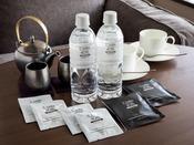 【アメニティ】こだわりの宇治茶をはじめ、豊富なお飲物をご用意しております
