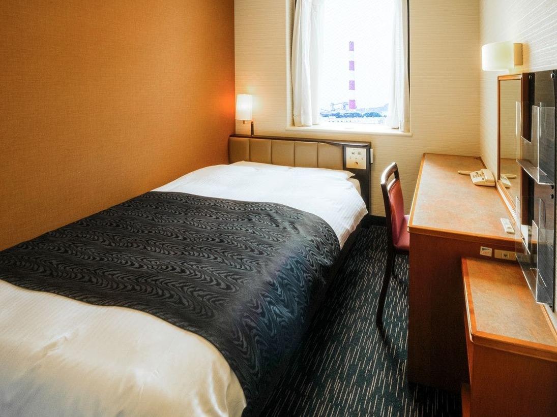 客室例:シングルルーム / ダブルルーム