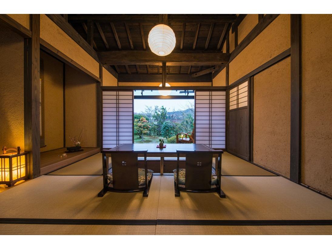 【夏】露天風呂付き客室