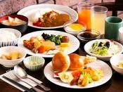 [朝食バイキング] 一日の始まりはおいしい朝食から♪