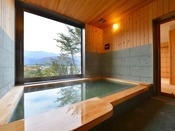 わらび平の湯には貸切風呂もあります(有料)大事な人と、ご家族で、ハンデをお持ちの方、フロントで予約制で承ります。