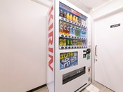 8階の自動販売機はソフトドリンクのみです