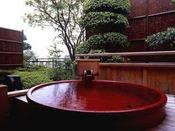 素翁亭/信楽焼の露天風呂付き