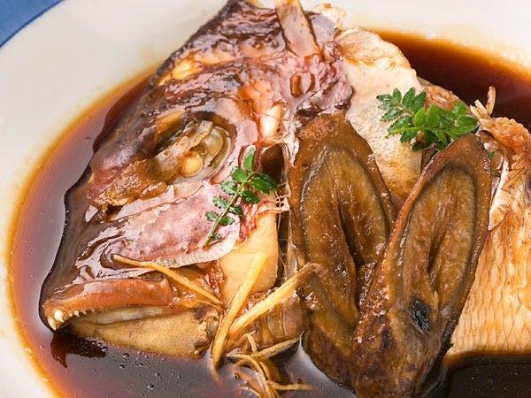 ■鯛のあら炊き■