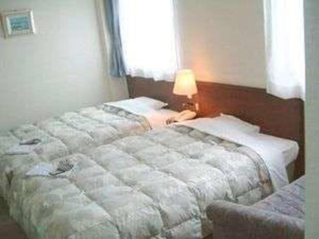 ツインルーム/セミダブルベット2台入ったお部屋です。