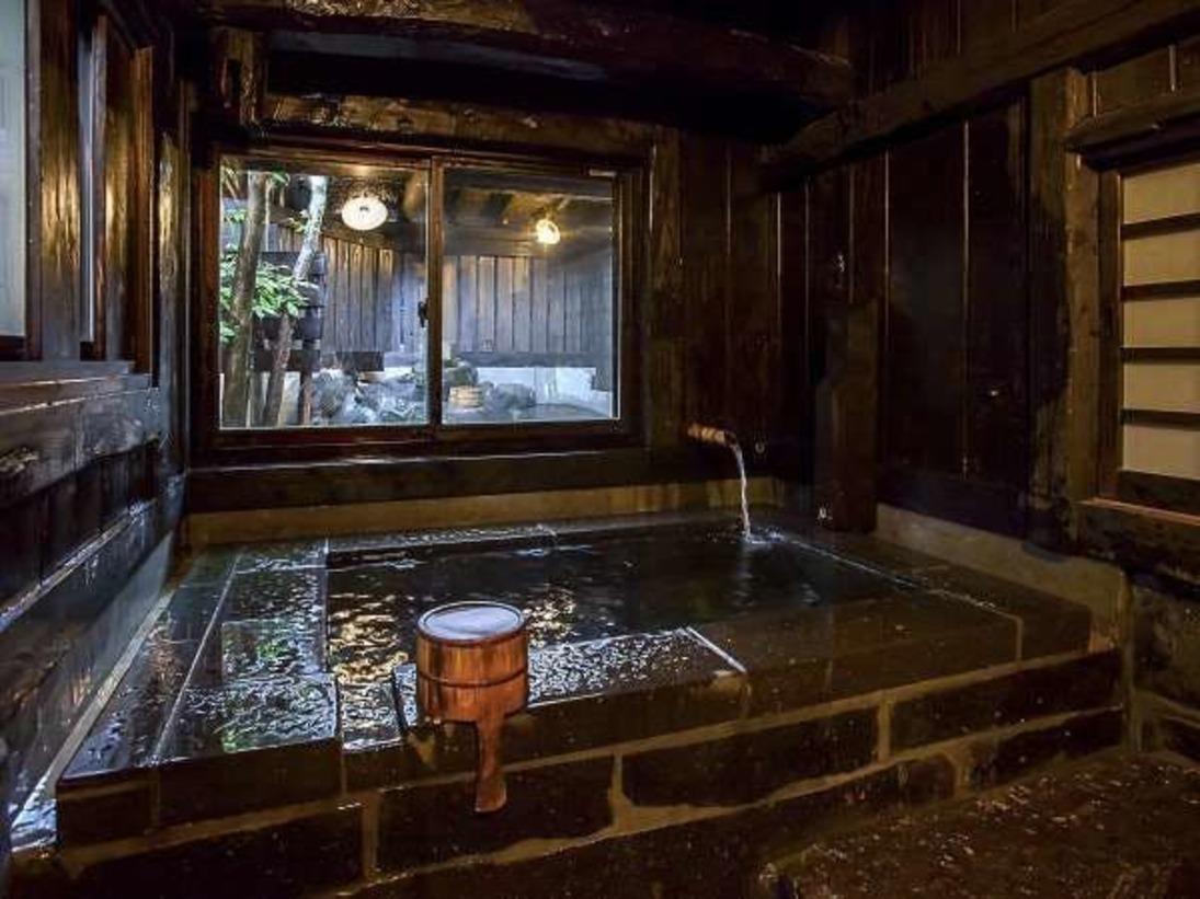 各部屋には内湯・露天と両方ございます