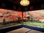 日本庭園が有名な「足立美術館」(秋の風景)