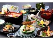 創作料理 BAN-YA 松コース一例