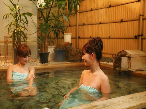 【女性大浴場:露天風呂】