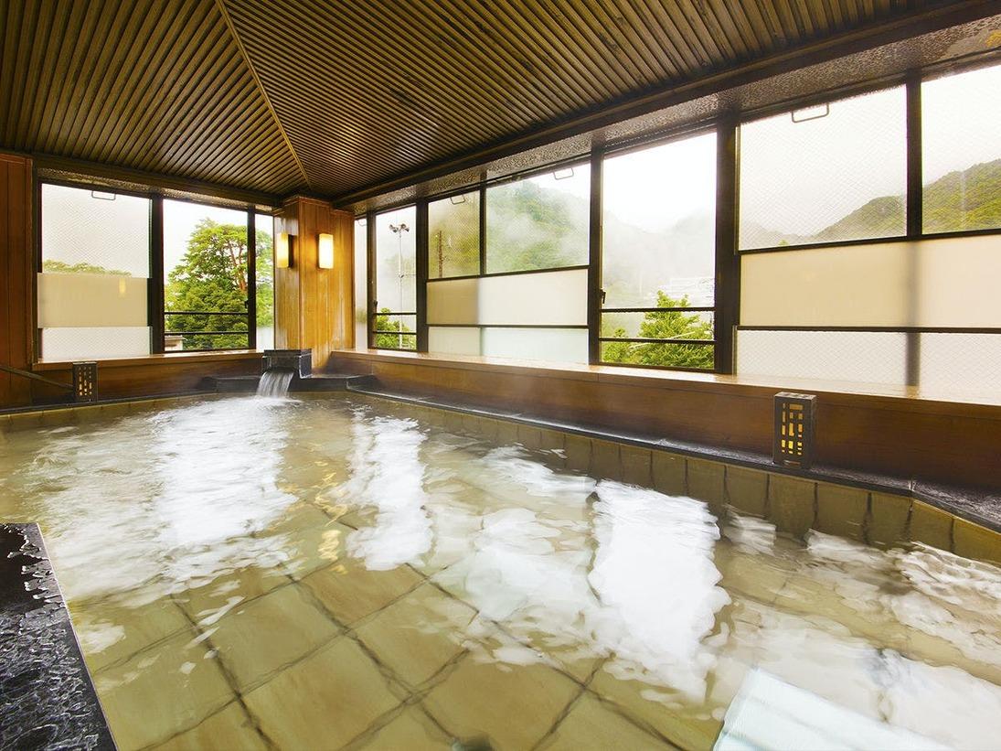 ■大浴場-内湯-■手足を伸ばしてゆっくりと♪旅の疲れをお癒し下さい