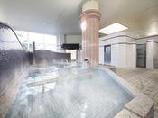 【温泉 大浴場】純天然温泉の温かいお風呂で身体の芯からお寛ぎ頂けます