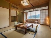 ◆陶川閣 和室スタンダード客室◆畳敷きの心地よい空間で、下呂の休暇をお過ごしください
