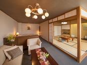 ◆陶川閣和洋室◆バリアフリーでお年寄りにも安心♪角部屋だから眺望もバツグンです