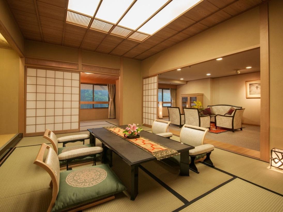 大観荘◆特別室・きくすい◆≪最上級≫にふさわしい、贅を極めた『スイートルーム』♪
