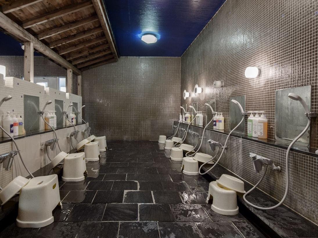 【温泉大浴場】洗い場
