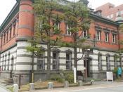 赤れんが郷土館・・・明治に建造された国の重要文化財です。