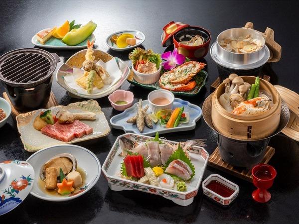 *【特別会席(一例)】秋は松茸料理付き