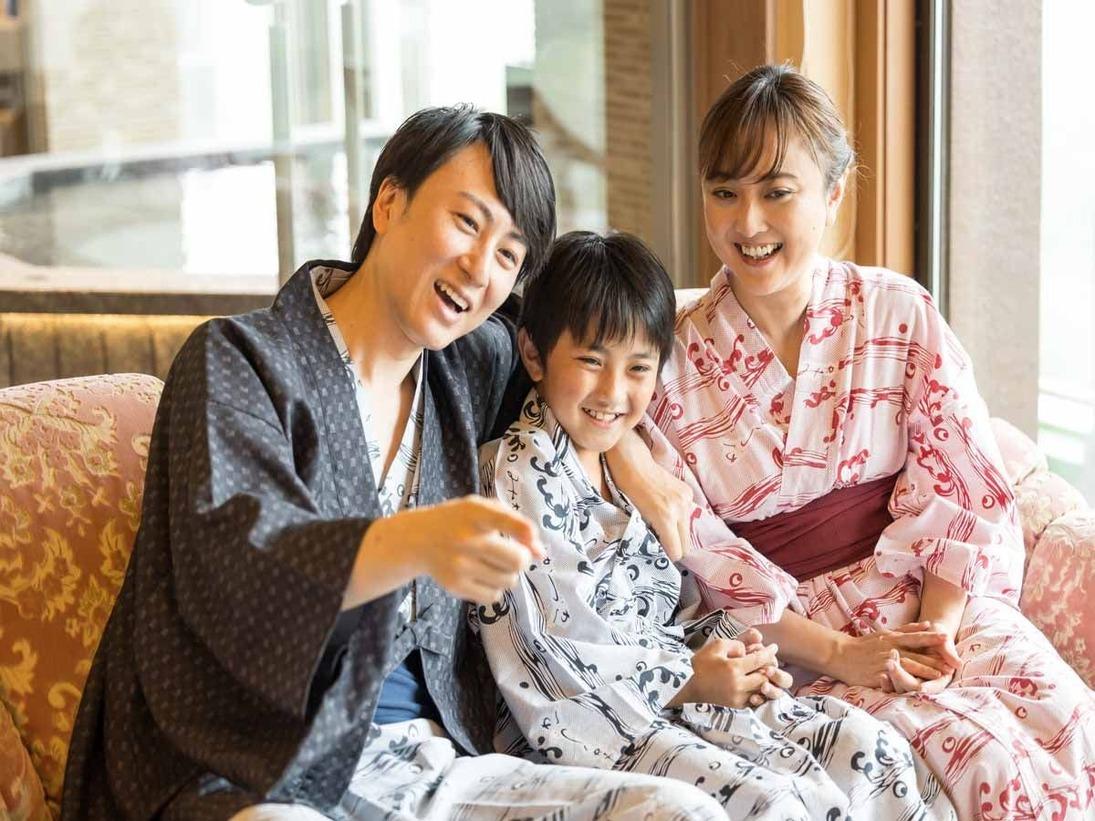 *【客室(一例)】家族の仲がもっと良くなる滞在を♪