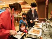*【夕食バイキング(一例)】お子様に大人気の料理もいっぱい!