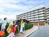 *【外観(一例)】鬼怒川旅行なら、家族みんなで楽しめるホテル三日月にお越しください♪