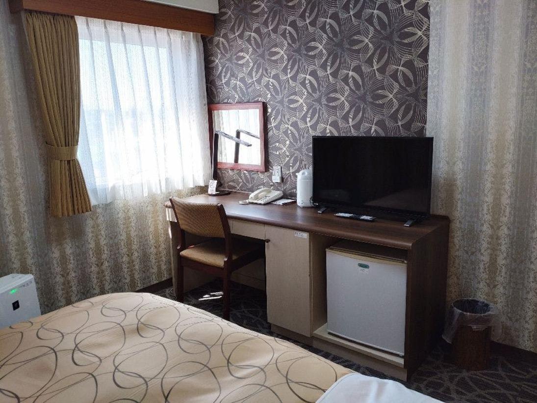 ◆シングル/13平米・ベッド幅110cm(1台)/ビジネス・観光・一人旅に最適(^▽^)/