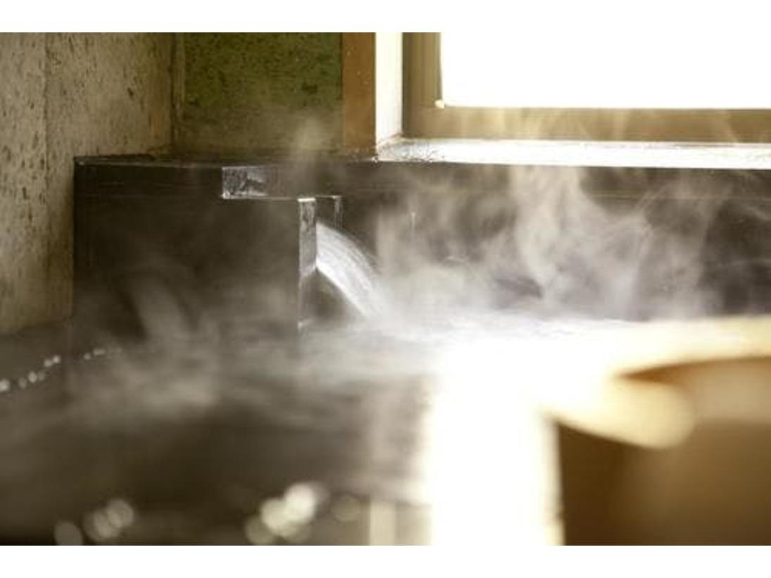 お部屋のお風呂は全て温泉を引いています。