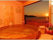 【露天風呂付特別室】「永遠の約束」、「幸せの時間」
