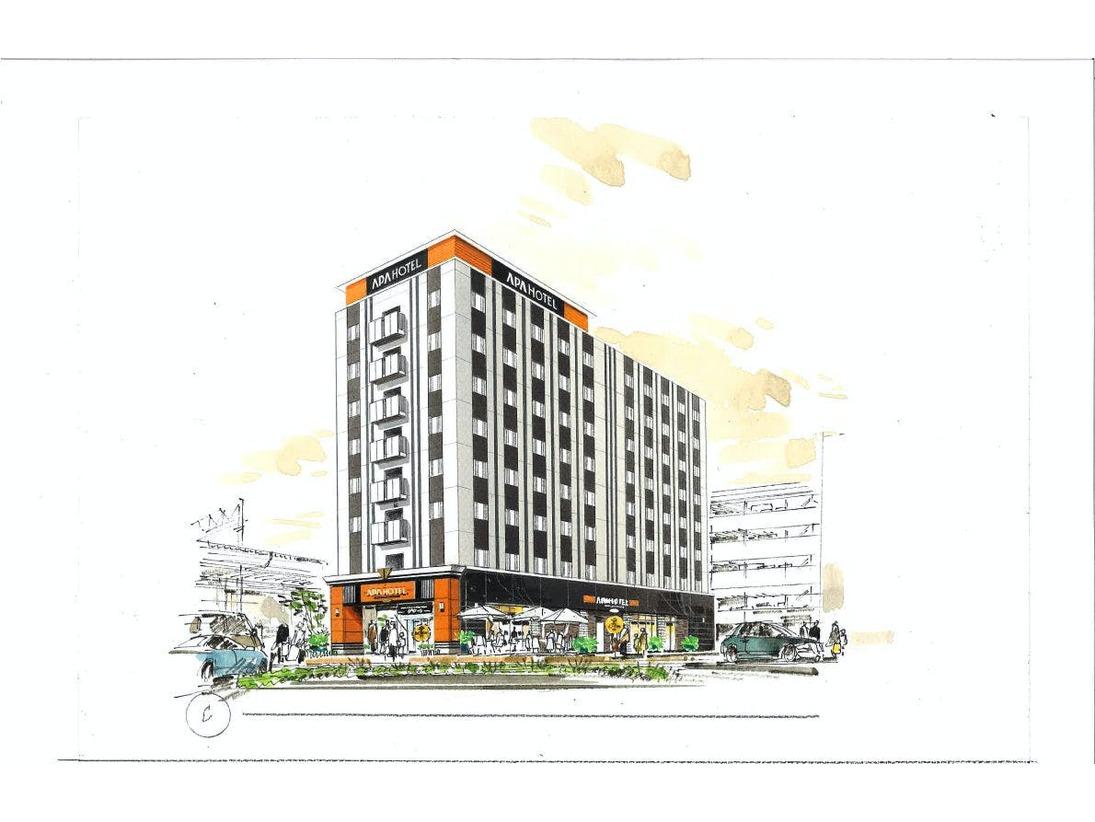 アパホテル〈埼玉東松山駅前〉