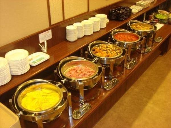 ☆種類豊富で栄養満点なバイキング朝食☆