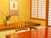 和室8帖のイメージ。純和風のお部屋でゆっくりとしたお時間をお過ごしくださいませ。