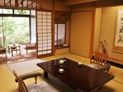 3室ある游月亭のうちの1つ「游水」。