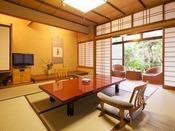 和室8帖イメージ。近代的な快適性はございませんが、日本家屋ならではの落ち着きがございます。