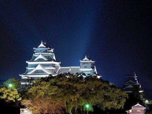 熊本城前の好立地
