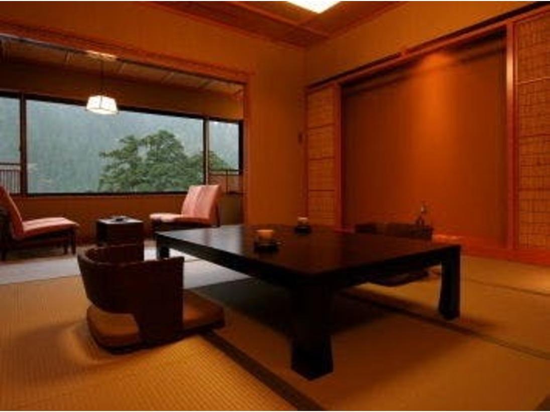 和創匠[松葉 啓氏]デザインルーム(露天風呂付客室)の一例