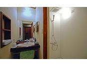 【和風モダン33平米】少し広めの客室タイプには、シャワーも有り