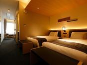 リビングとベッドルームが分かれたお部屋