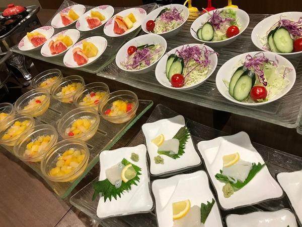 【朝食】和食セットメニュー+小皿盛り料理