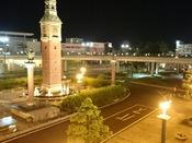 倉敷駅北口夜景