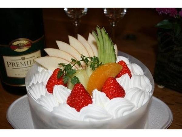 記念日をお祝いするケーキ