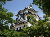 「彦根城」彦根藩伊井家35万石の居城/車・名神利用で1時間5分、JR利用で1時間20分