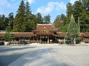 「多賀大社」延命長寿・縁結びの神。古くから全国的な信仰を集める。