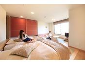 お部屋からの眺めは緑水亭ならでは!和モダンスイート「明月」